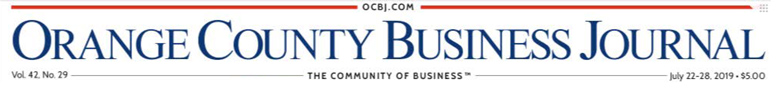 Orange County Business Journal Masthead