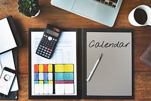 2019 Q4 tax calendar